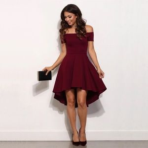 Dresses & Skirts - Beautiful Burgandy Dress